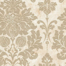 Large Scale Gold Damask Wallpaper MD29414 Double Roll  FREE SHIPPING