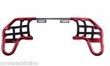 Nerf Bars byTusk for YAMAHA YFZ 450 - 2004-2013 Red/Black Webbing