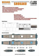Hunter 1/350 W35065 Wood deck IJN Shokaku for Fujimi