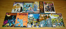 Battletech #1-6 VF/NM complete series + annual + battleforce 1-2 based on game