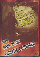 """""""THE CAT AND THE CANARY"""" BOB HOPE DVD NEW free ship 2nd"""