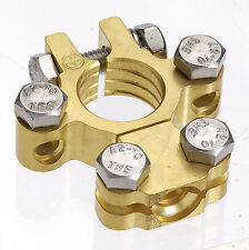 Projecta Brass Battery Terminal Pole Clamp 50-70mm cable positive post BT620-P1
