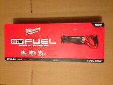 Milwaukee 2720-20 Cordless M18 Fuel 18V Reciprocating Saw Sawzall Bare Tool NEW
