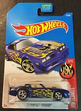 2017 Hot Wheels CUSTOM Super 77 Pontiac Firebird with Real Riders