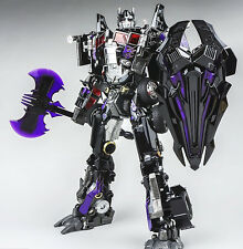 Weijiang Deformation M01 Commander Optimus Prime Toy Figure Black Convoy In Box