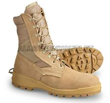 US Military Wellco HOT WEATHER COMBAT BOOTS Vibram Desert USA Made NEW 14.5 R