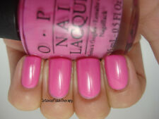 NEW! OPI Nail Polish Lacquer in SHORTS STORY ~ Hot pink. The end. ~ CREME