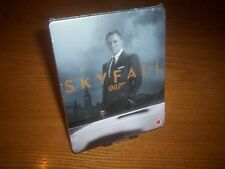 SKYFALL new blu-ray steelbook rare OOP all region free abc (worldwide shipping)