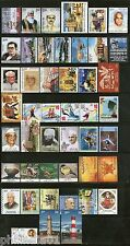 India 2012 Year Pack of 46 Stamps on Olympic Lighthouse Painting Aviation Israel