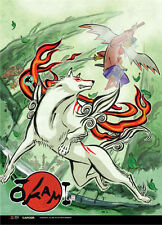 Okami Ameterasu Wall Scroll Poster Anime Manga NEW