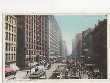 State Street Chicago Vintage Postcard USA 513a