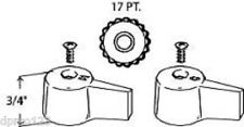 """""""REPLACEMENT HANDLES W/SCREWS FOR CLAWFOOT TUB  DIVERTER ADD A FAUCET FREE S/H"""