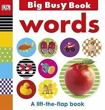 Big Busy Book Words by DK Publishing (Board book, 2013)