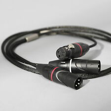 Zu Audio MISSION XLR 6.6ft [2.0m] Stereo Hi-Fi/Pro Studio Interconnect Cable