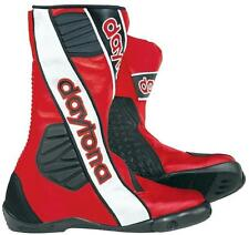new DAYTONA Motorcycle Boots boots Security Evo G3 Size uk 8 Racing boots