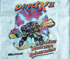 Microsoft DirectX T Shirt Invasion of Another Dimension T Shirt Mens XL