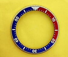 "SEIKO BEZEL W/ PEPSI INSERT ""1"" FOR 6309 7040, 7290, 6306, 7002 & 7548 WATCH #85"
