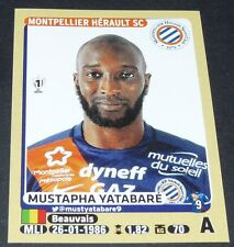 N°287 YATABARE MONTPELLIER MHSC MOSSON PAILLADE PANINI FOOTBALL FOOT 2015-2016