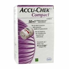 New product Accu-Chek Compact Glucose Test Strips Box of 51 Exp date : 04/2017