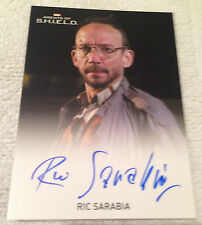 Agents of Shield Season 2 Autograph Card Ric Sarabia as Wendell Levi