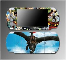 How to Train Your Dragon 2 Toothless Hiccup Movie Game Skin Sony PSP Slim 3000