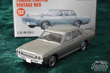 [TOMICA LIMITED VINTAGE NEO LV-N19a 1/64] NISSAN GLORIA 2000 GL 1971 (Silver)