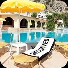 RESERVED Holiday Beach Towel - Grab That Sun Lounger!