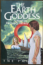 The Earth Goddess by Richard Herley-1st U.S. Edition/DJ-The Pagans Book III