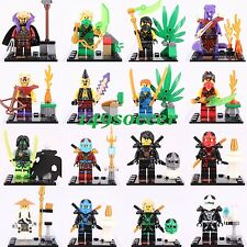 16pcs Set Ninjago Cole Minifigures Super hero Thunder Swordsman Custom Lego