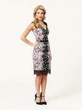 Review Audrey Hepburn Style Floral Party Cocktail Formal Dress Size 6  RRP$289.9