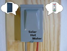 Solar Water Heater EZ Kit Save $$$ No Pipe Changes Hot Water System PV MPPT !