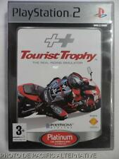 COMPLET jeu platinum TOURIST TROPHY sur playstation 2 sony PS2 game course moto