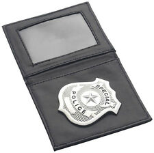 Porte Carte Pochette + Badge POLICE Déguisement Adulte Homme Costume POLICIER LG