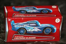 "DISNEY PIXAR CARS ""BLING BLING McQUEEN"" BLUE DINOCO W/ SHINY SILVER RIMS"