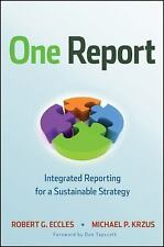 ONE REPORT - MICHAEL P. KRZUS ROBERT G. ECCLES (HARDCOVER) NEW