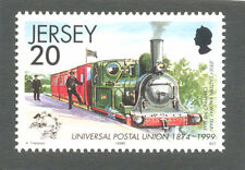 Steam Trains-Jersey(1)Railway mnh