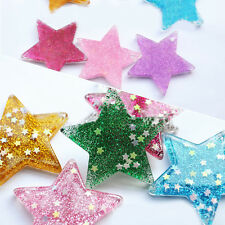 Christmas Mini Shining Five-pointed Star Flatback Resin DIY Xmas Tree Decoration