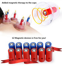 Healthy VACUUM 12 CUPPING cups SLIMMING THERAPY Massage Acupuncture BIG SALE