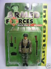 1/18 INTOYZ GERMAN INFANTRY WITH RIFLE bbi gijoe action man ultimate soldier