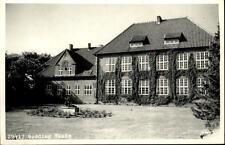 Rødding Dänemark alte AK Danmark ~1950/60 Skole Partie an der Schule Brunnen