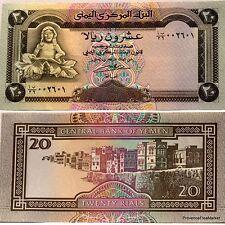 Yémen  République Arabe Billet de  20 RIALS Pick 26 NEUF