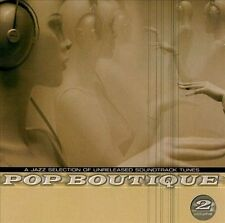 POP BOUTIQUE 2 on Spinning Wheel CD! Soundtrack jazz of Jean-Jacques Perrey etc.