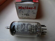 EF86 MULLARD  HOLLAND   NEW OLD STOCK  VALVE TUBE 1PC D14