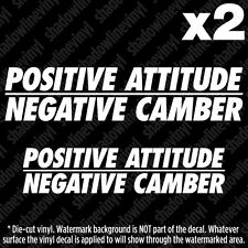 CAMBER Decal Sticker JDM Euro fatlace funny bags slammed stance hellaflush