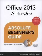Office 2013 All-In-One Absolute Beginner's Guide, Rutledge, Patrice-Anne, Good B