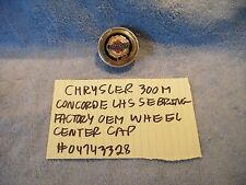 CHRYSLER 300M CONCORDE LHS FACTORY OEM WHEEL CENTER CAP # 04743328 FREE SHIPPING