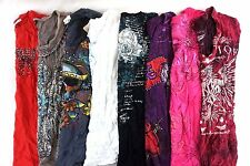 Mixed w/ Affliction Juniors Lot of 8 Graphic T-Shirts Small S K14968