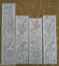 4 punch cards for Brother Knitting Machines SingerSilver