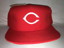 Vtg Cincinnati Reds NEW ERA Fitted hat cap size 7 3/4 Doughboy 90s NWT diamond