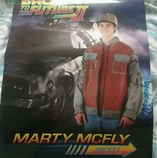 Back to the future 2 marty mcfly jacket -   large